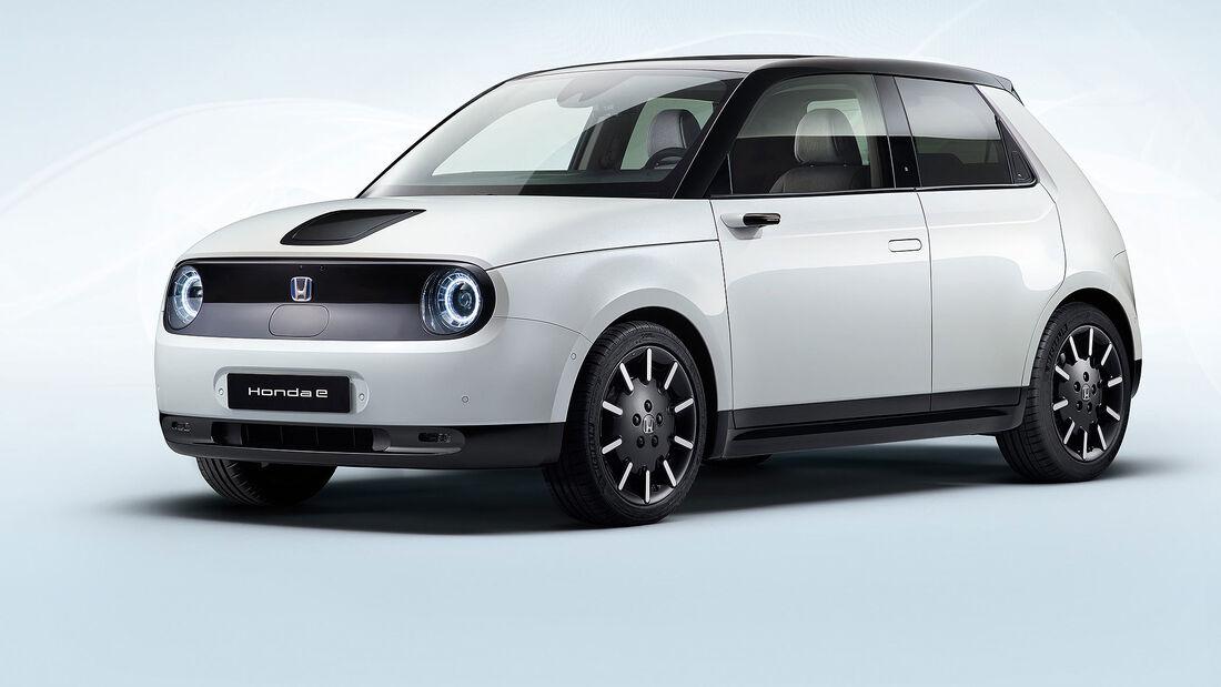 09/2019, Honda E Serienversion