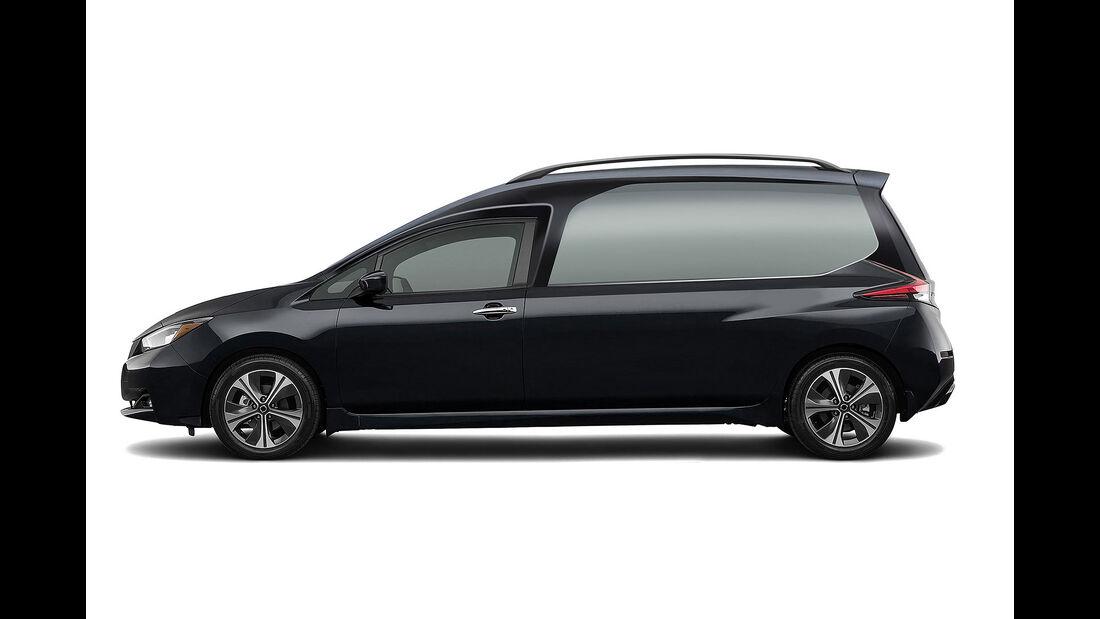 09/2019, Nissan Leaf Leichenwagen von Brahms
