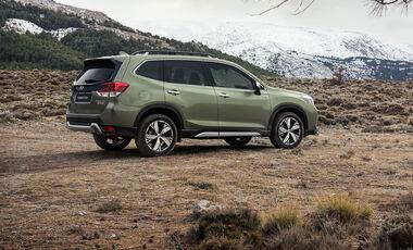 09/2019, Subaru Forester mit e-Boxer