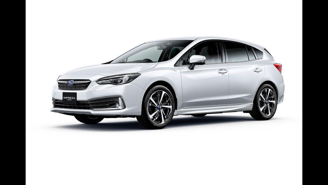 09/2019, Subaru Impreza Facelift