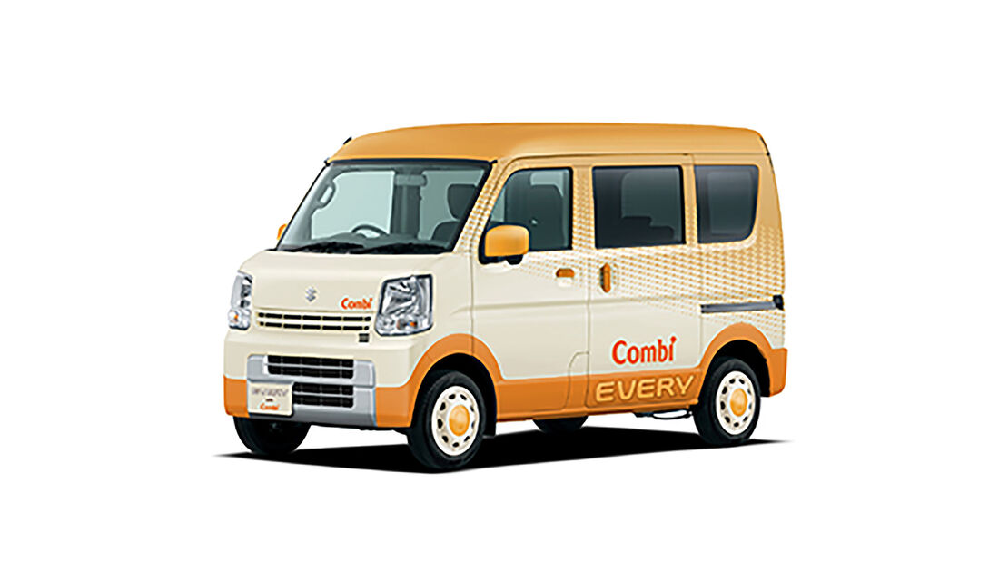 09/2019, Suzuki Combi Every go-anywhere Baby Room