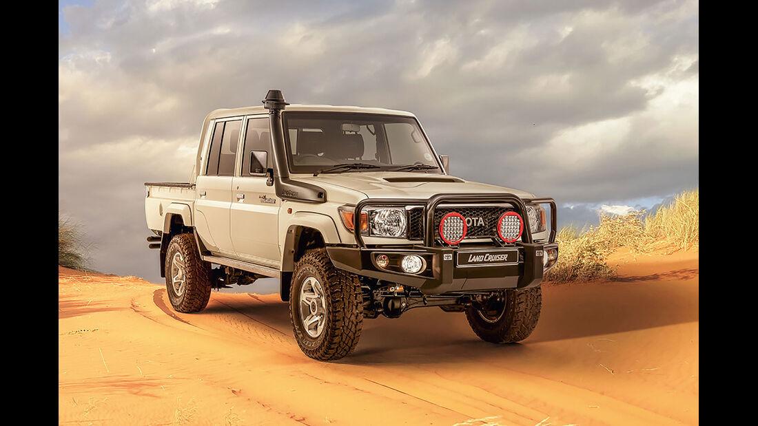 09/2019, Toyota Land Cruiser 79 Namib-Sondermodell