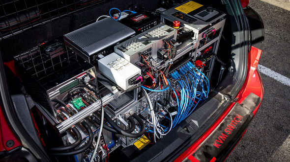 09/2019, VW Technik-Workshop autonomes Fahren Portimao