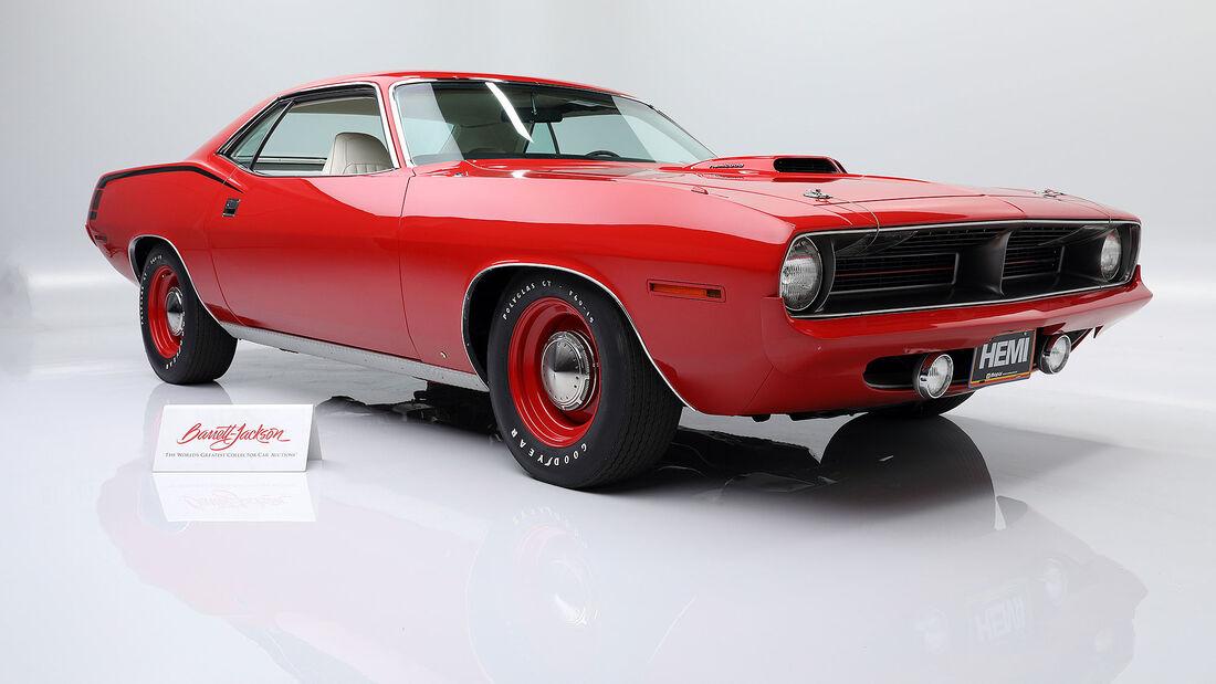 09/2020, 1970 Plymouth Hemi Cuda Auktion