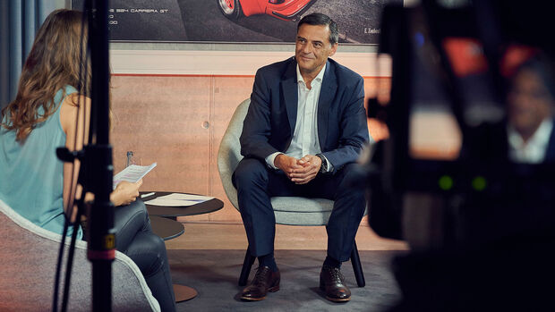 09/2020, Michael Steiner Porsche Entwicklungsvorstand