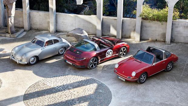 09/2020, Porsche 356, Ur-911 und 992