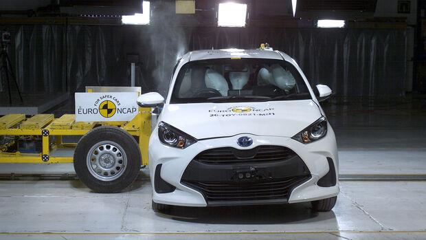 09/2020, Toyota Yaris EuroNCAP Crashtest