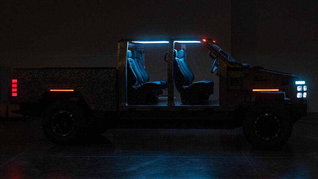 09/2021, Atlis XT Elektro-Pickup Prototyp Erlkönig