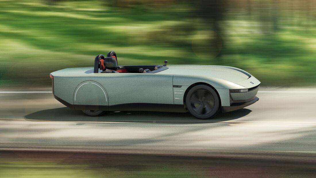 09/2021, Aura Elektro-Roadster Concept Car