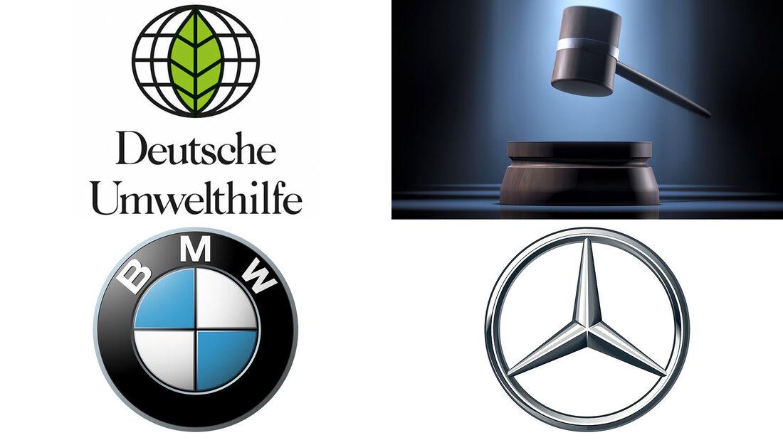 09/2021, Deutsche Umwelthilfe verklagt BMW und Mercedes