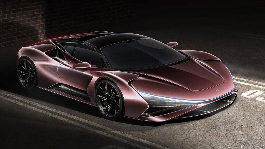 09/2021, Elektron Motors Truva Elektro-Hypercar
