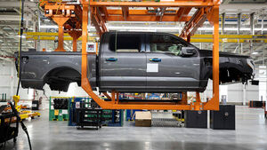 09/2021, Ford F-150 Lightning Pre-Production Rouge Michigan