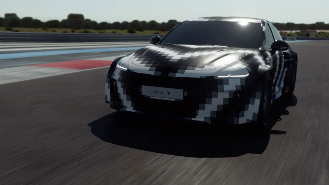 09/2021, Hyundai Vision FK Wasserstoff Sportwagen