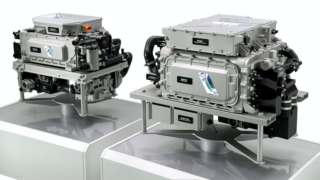 09/2021, Hyundai Wasserstoff Brennstoffzelle