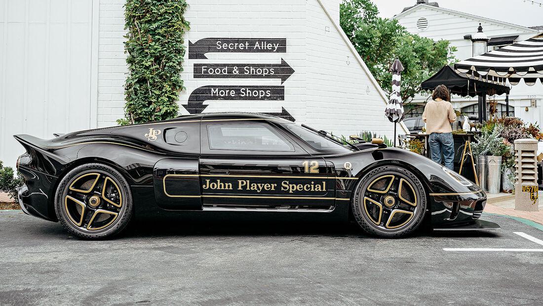 09/2021, John Player Special Radford Type 62-2 auf Lotus-Basis
