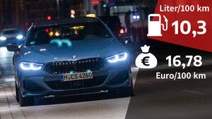 09/2021, Kosten und Realverbrauch BMW 840i Gran Coupé xDrive