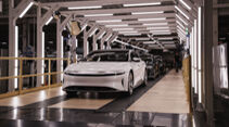 09/2021, Lucid Air Alektro-Limousine Produktionsstart