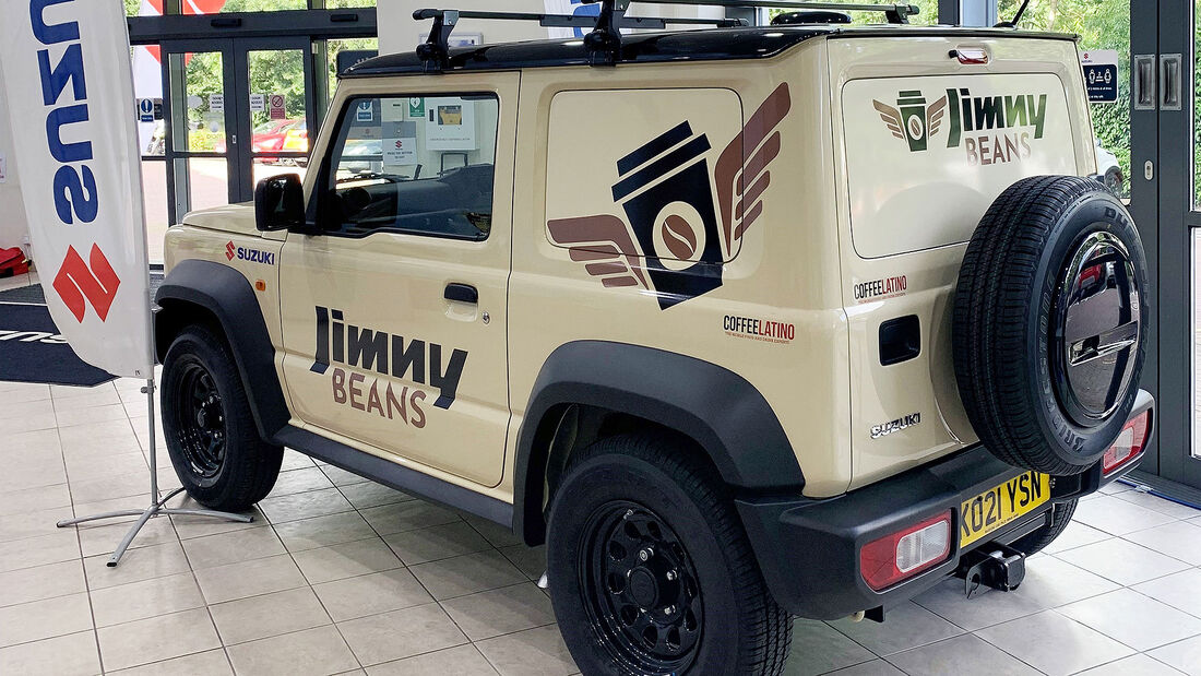 09/2021, Suzuki Jimny LCV Beans