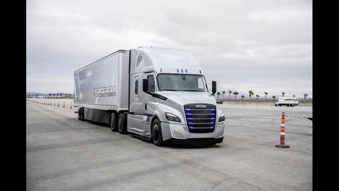 1/2019, Daimler Trucks CES 2019