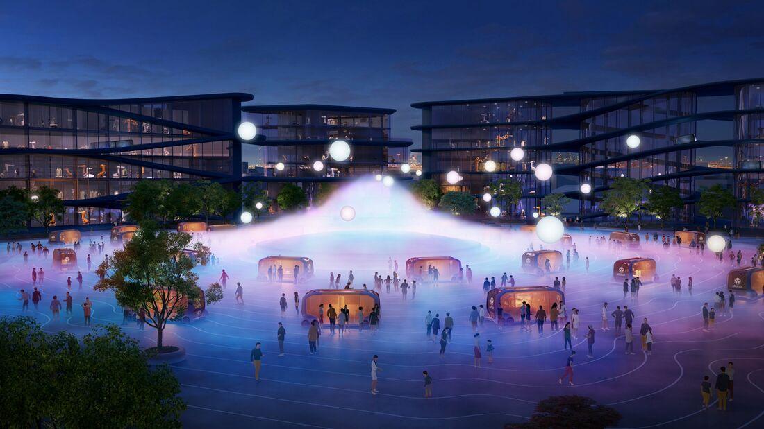 1/2020, Toyota Woven City