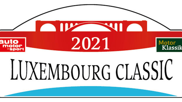 1. Rallye Luxembourg Logo Schild