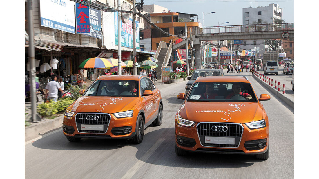 10/2011 Audi Q3 Trans China Tour 2011, Tag 11, Zhaoqing – Yangshuo