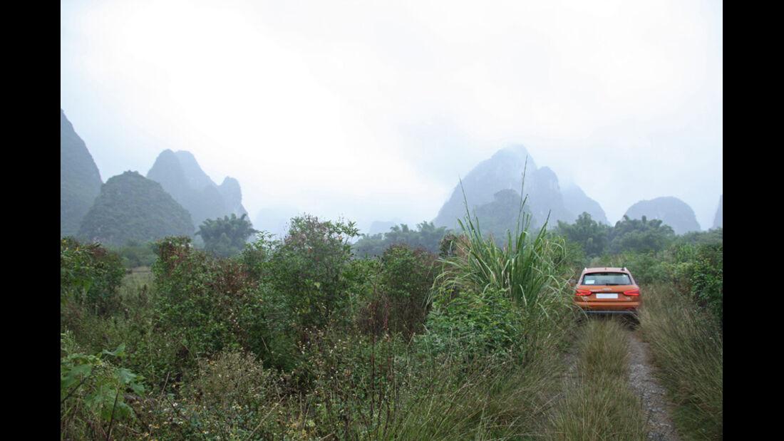 10/2011 Audi Q3 Trans China Tour 2011, Tag 12, Yangshuo-Guilin
