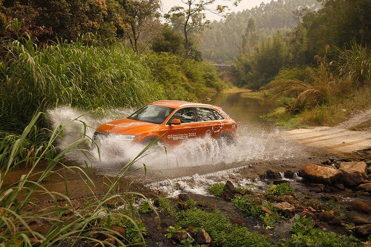 10/2011 Audi Q3 Trans China Tour 2011, Tag 14, Zhaoqing-Guangzhou