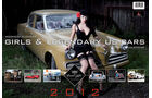 10/2011 Girls & legendary US-Cars 2011 Wochenkalender