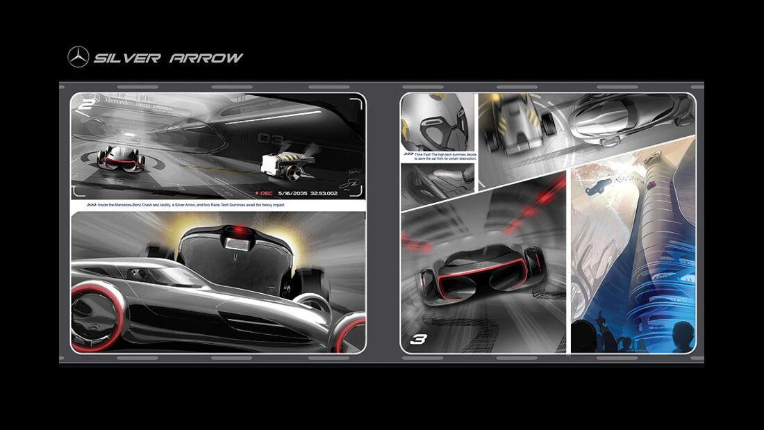 10/2011 L.A.Design Challenge 2011, Mercedes Silver Arrow