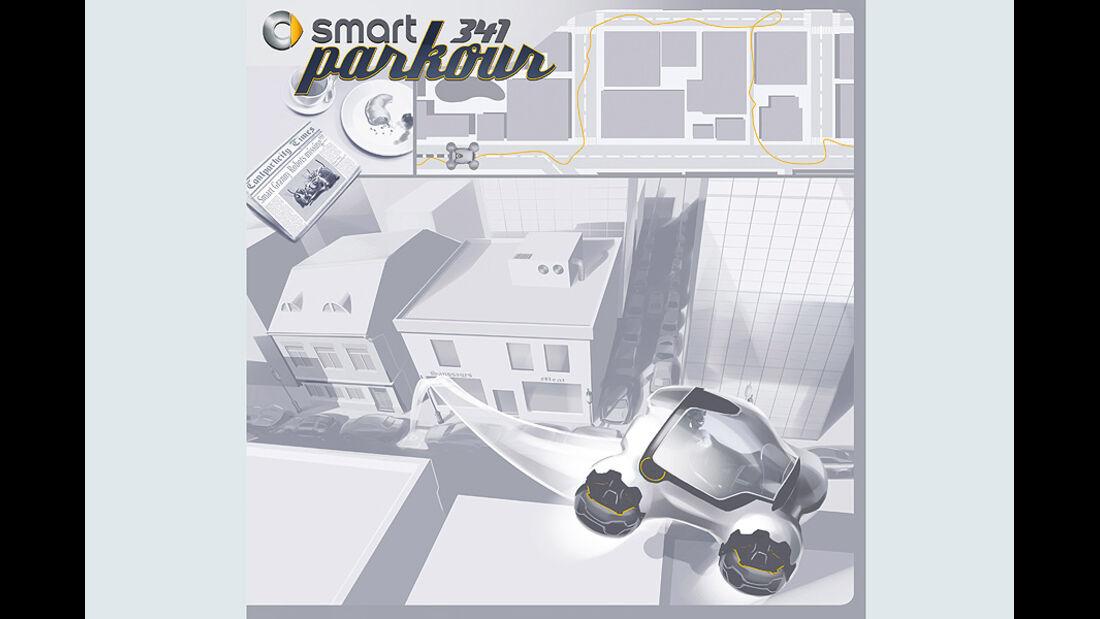 10/2011 L.A.Design Challenge 2011, Smart 341 Parkour