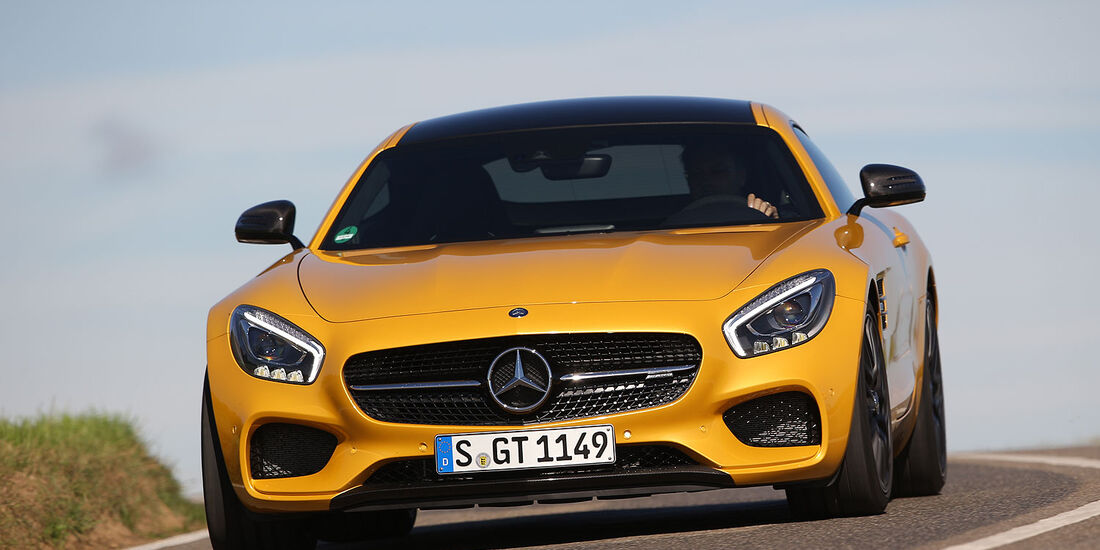 10/2014 Mercedes AMG GT Mitfahrt