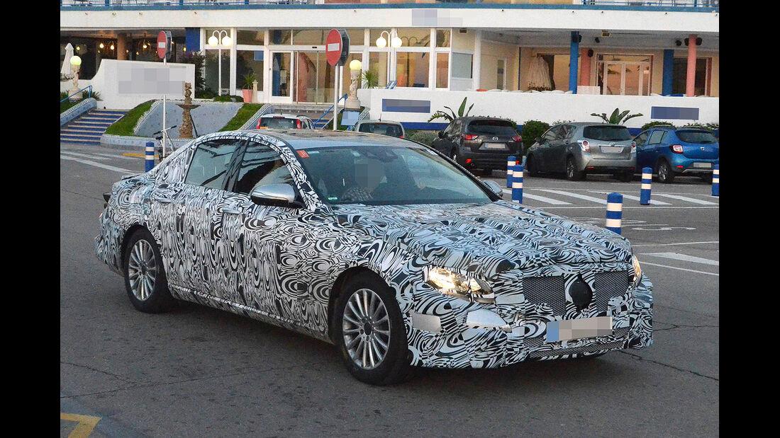 10/2014 Mercedes E-Klasse Erlkönig