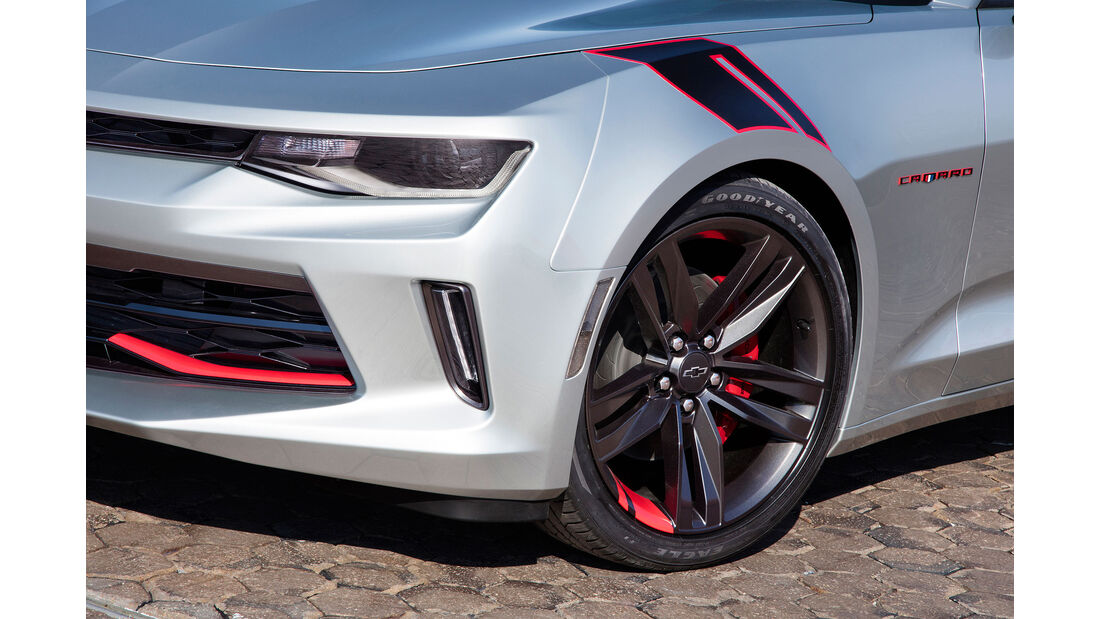 10/2015 Chevrolet auf der Sema 2015 Camaro