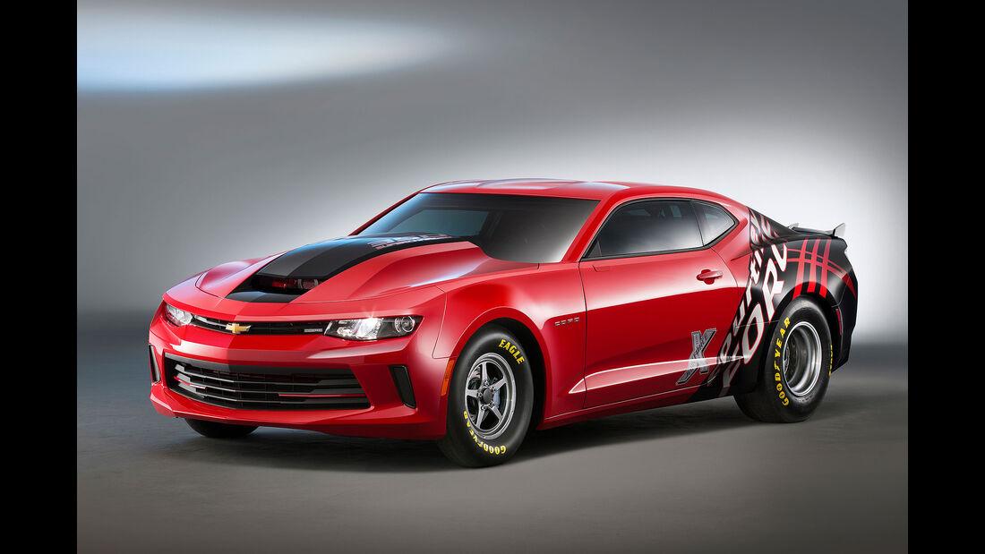 10/2015 Chevrolet auf der Sema 2015 Camaro SS Concepts