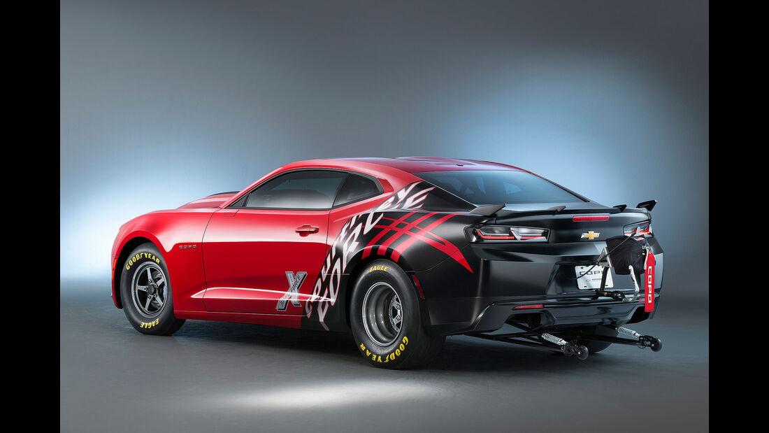10/2015 Chevrolet auf der Sema 2015 Camaro Six Copo
