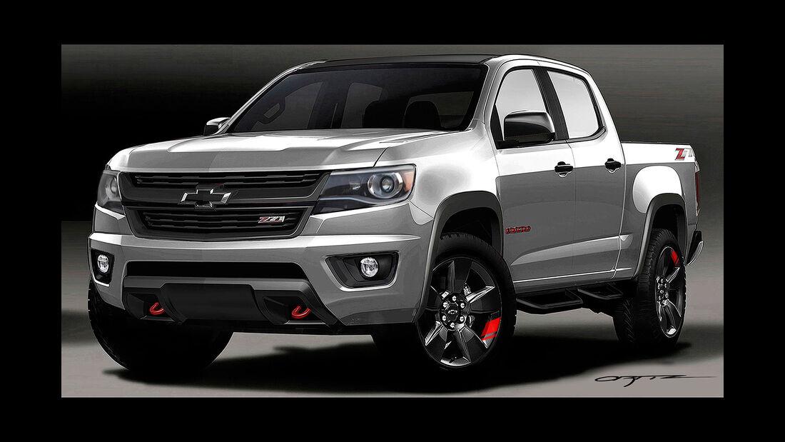 10/2015 Chevrolet auf der Sema 2015 Colorado