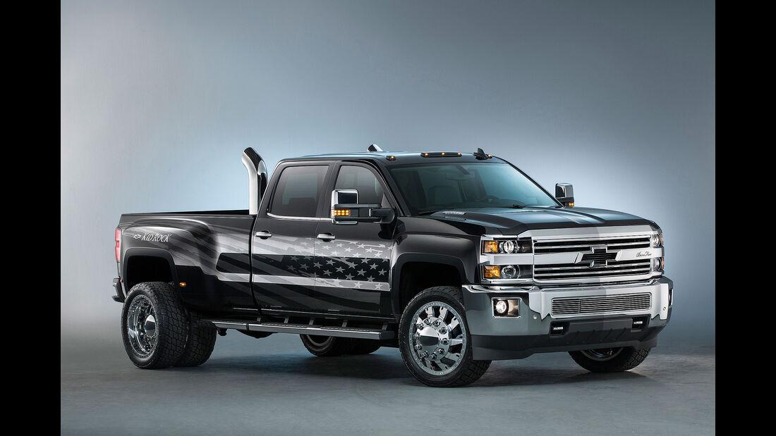 10/2015 Chevrolet auf der Sema 2015 Silverado HD Kid Rock