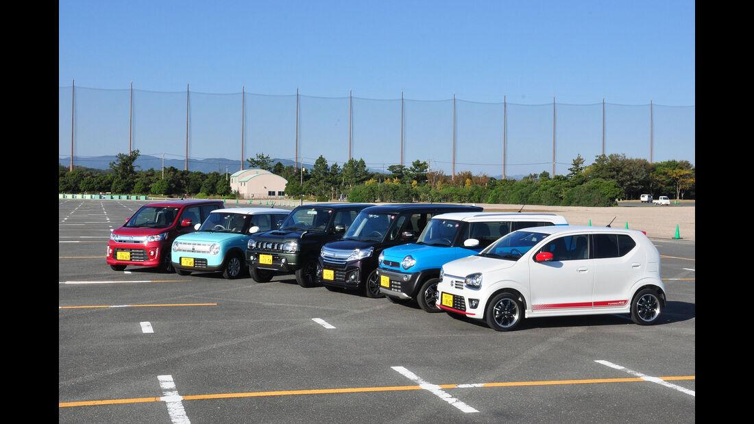 10/2015, Fahrbericht Suzuki Kei-Cars