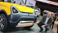 10/2015 Tokio Motor Show 2015 Suzuki Mighty Deck Sitzprobe Stefan Cerchez