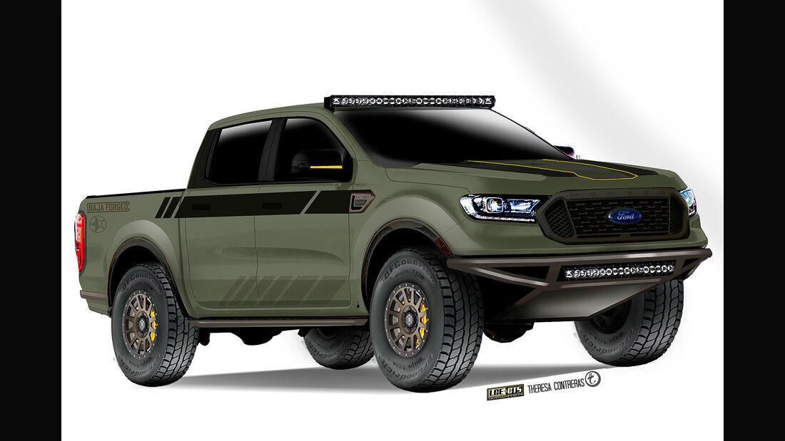 10/2018, 10/2018, Ford Ranger von LGE*CTS Motorsports auf der SEMA 2018