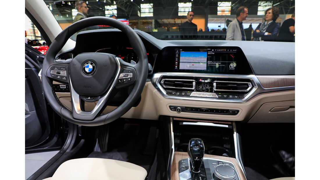10/2018, BMW 3er G20 auf dem Autosalon Paris 2018