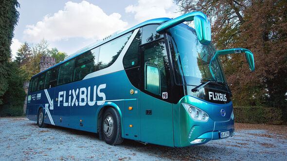 10/2018, BYD C9 von Flixbus