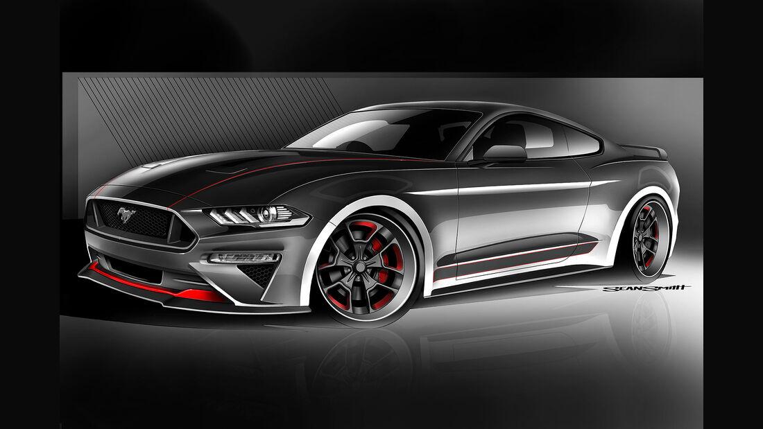 10/2018, CGS Motorsports Ford Mustang GT auf der SEMA Show 2018