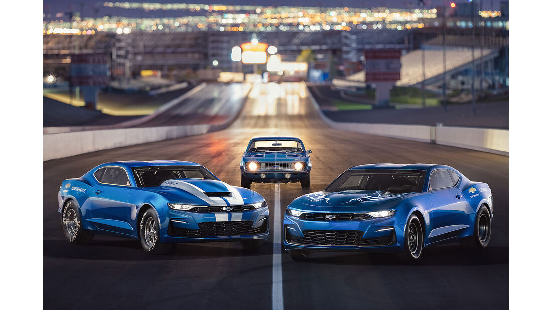 10/2018, Chevrolet Copo and eCopo Camaro Concept