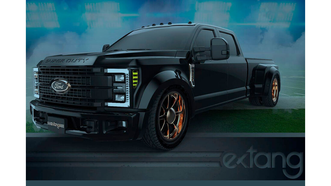 10/2018, Ford F-350 Super Duty von Extang