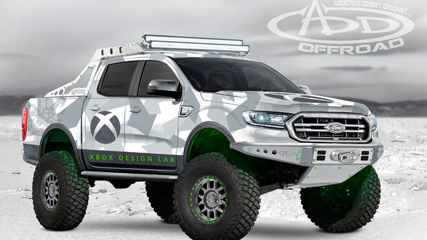10/2018, Ford Ranger von Addictive Dessert Designs