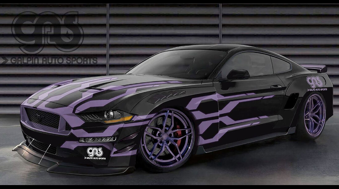 10/2018, GAS Ford Mustang GT auf der SEMA Show 2018