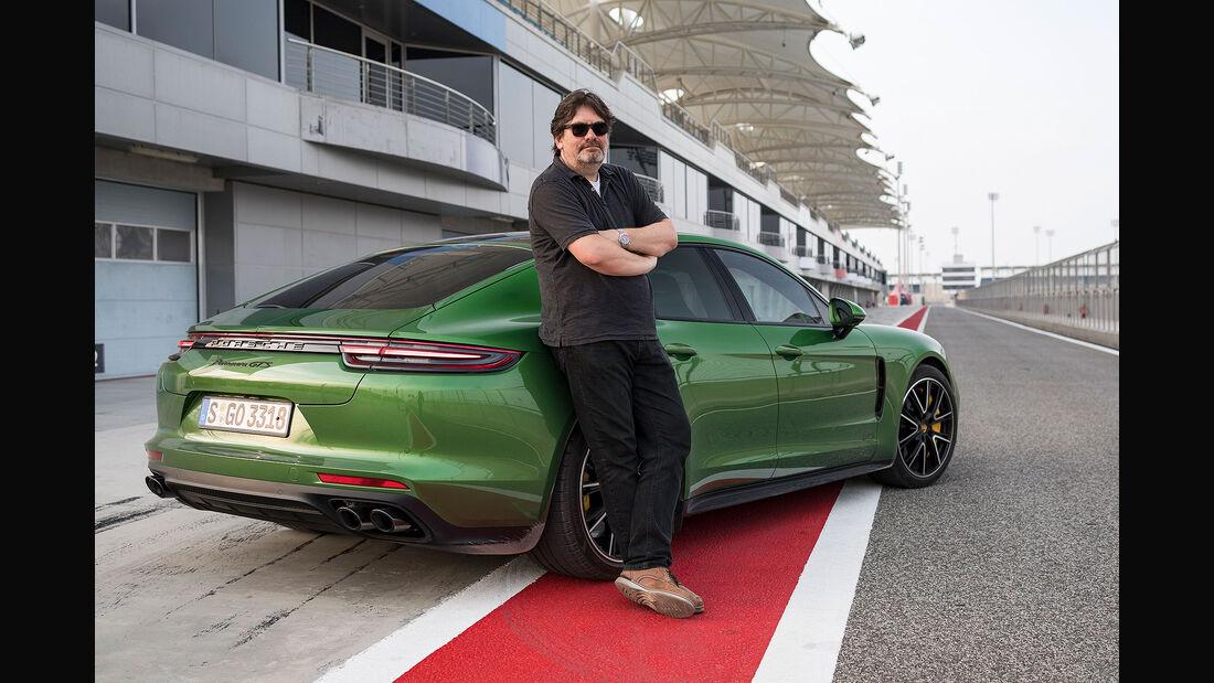 10/2018, Heinrich Lingner mit dem Porsche Panamera GTS auf dem Bahrain International Circuit