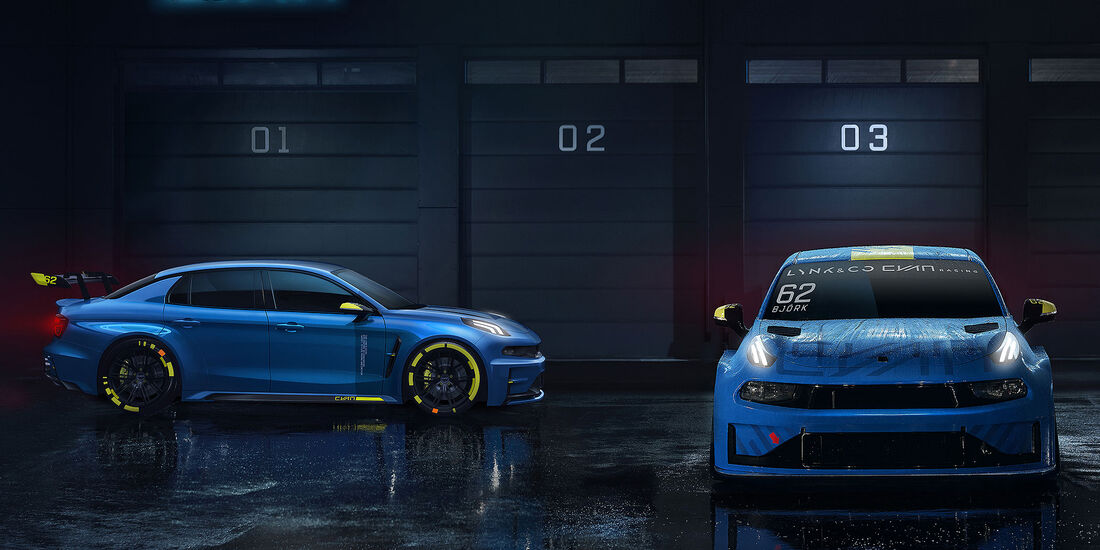 10/2018, Lynk & Co TCR WTCR 2019 und Lynk & Co 03 Cyan